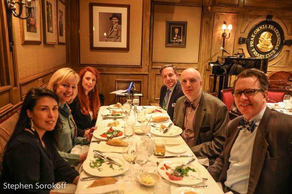 Maria von Nicolai, Will Friedwald, Leslie Lareado, Jeff Leibowitz