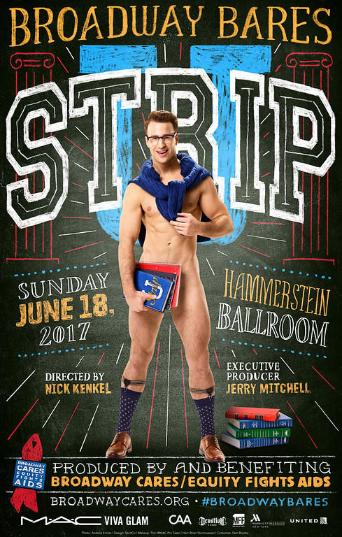 Summer School Will Be in Session This June for Broadway Bares: Strip U- Watch a Sexy Trailer!