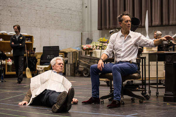 Nicholas Le Prevost and Richard E. Grant