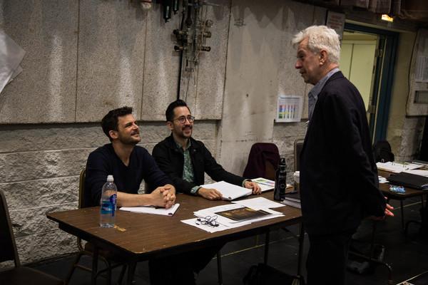 Olivier Fredj, Matthew Ozawa and Nicholas Le Prevost