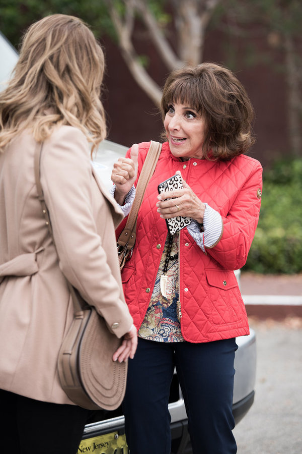 "GREAT NEWS -- ""Bear Attack"" Episode 102 -- Pictured: Andrea Martin as Carol -- (Photo by: Eddy Chen/NBC)"