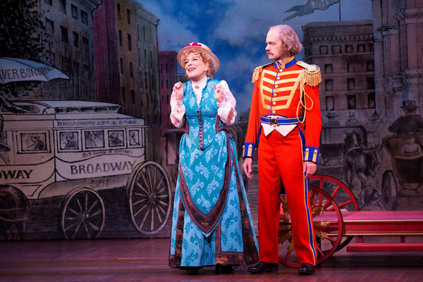 Hello, Dolly! Production Photo - Bette Midler and David Hyde Pierce