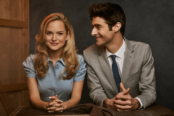 Photo Flash: This Pair Is 'Easy to Love'! Meet the Stars of ROMAN HOLIDAY, Stephanie Styles and Drew Gehling