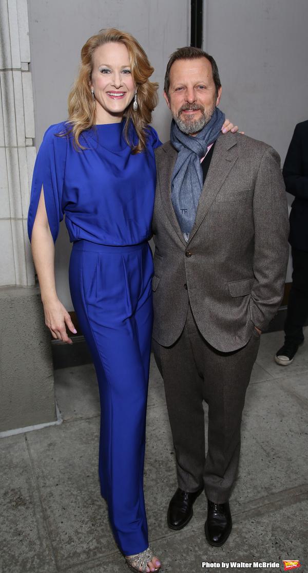 Katie Finneran and Rob Ashford