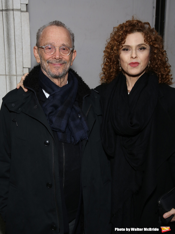 Joel Grey and Bernadette Peters