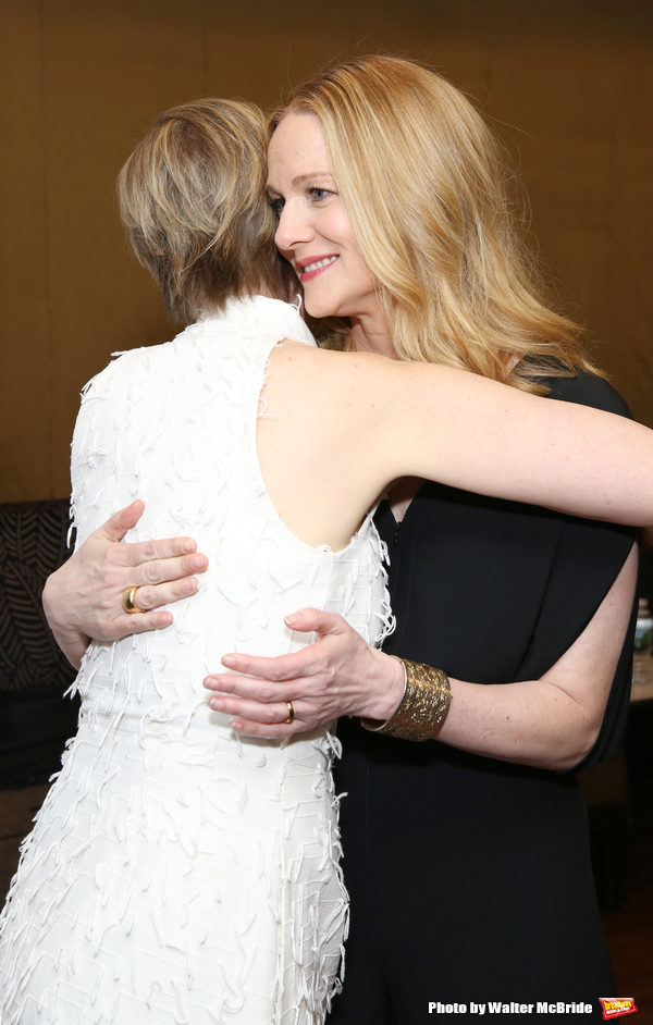 Cynthia Nixon and Laura Linney