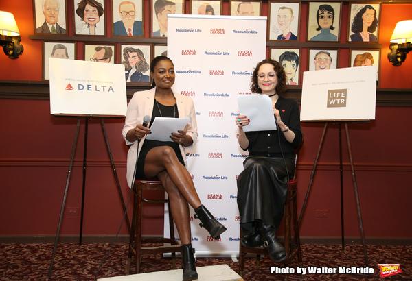 Patina Miller and Bebe Neuwirt
