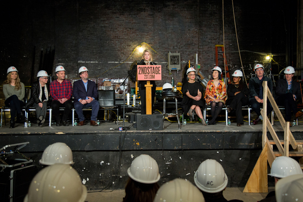 Photo Coverage: Second Stage Theater Gets Ready for Its Inaugural Broadway Season
