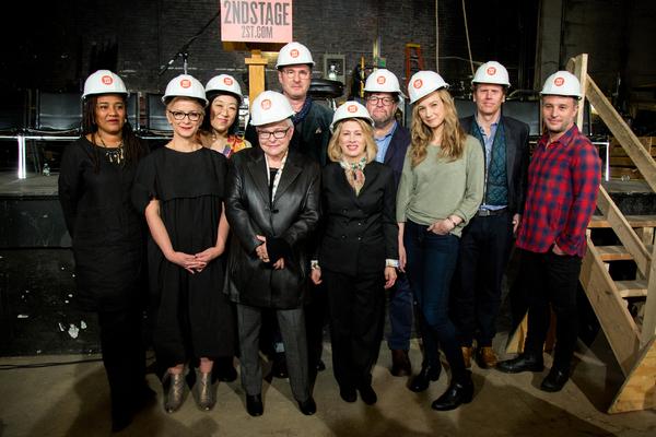 Lynn Nottage, Anna Shapiro, Young Jean Lee, Paula Vogel, Jon Robin Baitz, Carole Roth Photo