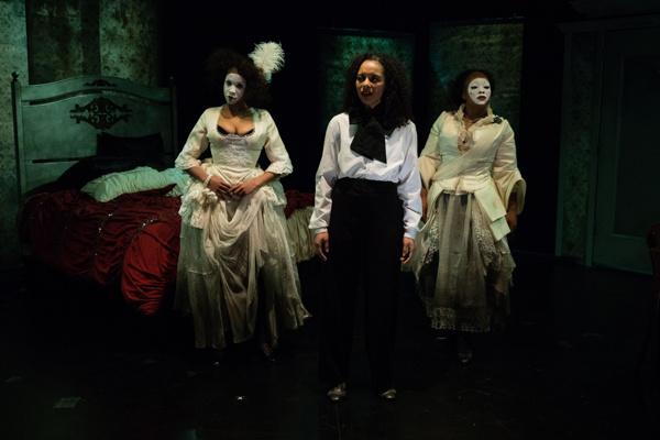 Kara Green, Katya Collazo, and Jenny Burks