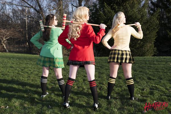 Julia Adrian, Lydia Haynes, Maggie Powderly
