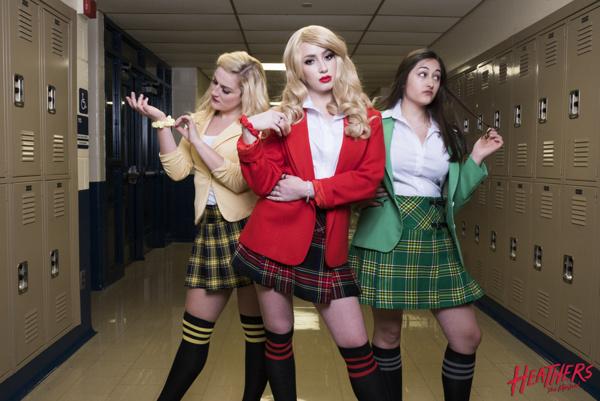 Maggie Powderly, Lydia Haynes, Julia Adrian