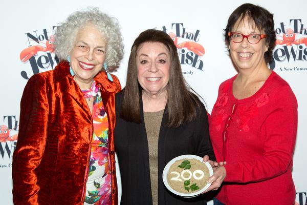 Marilyn Sokol, Monica Piper, Sandy Rosenberg