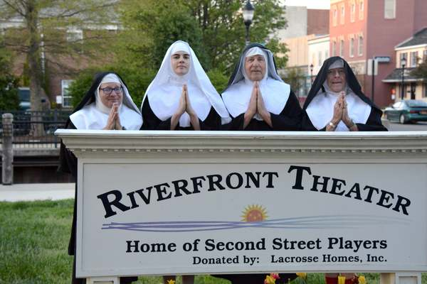 Photo Flash: Sneak Peek at the Stars of Second Street Players' NUNSENSE: A-MEN!