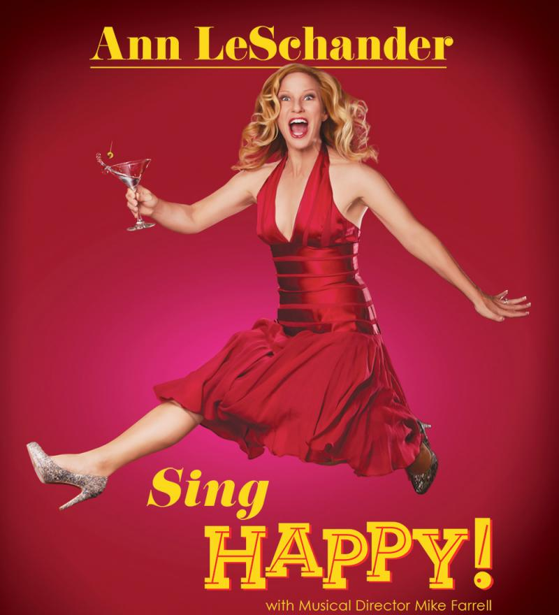 BWW Review: SING HAPPY! - Ann LeSchander Certainly Does & Well