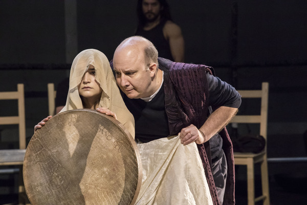 Isabella Nefar and  Paul Chahidi  Photo