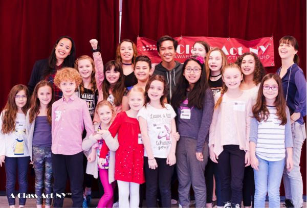 Photo Flash: Broadway Stars Courtney Reed and Lauryn Ciardullo Taught a Successful ALADDIN Workshop at A Class Act NY