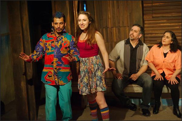 Esteban Andres Cruz, Ilse Zacharias, Miguel Nuñez, and Laura Crotte