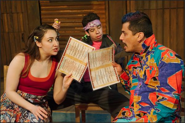 Ilse Zacharias, Brandon Rivera, and Esteban Andres Cruz