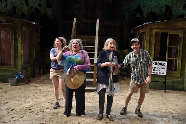 Rebecca Gibel, Anne Scurria, Susan MacDonald, and Stephen Thorne
