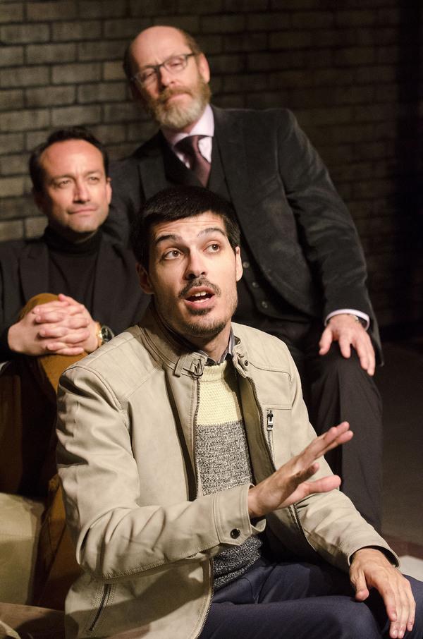 Kevin Broccoli, Luis Astudillo, and Ed Shea