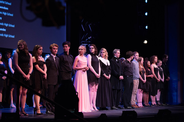 Photo Flash: THE BOY FRIEND, LES MISERABLES, SWEENEY TODD and More Win Big at 2017 Tommy Tune Awards