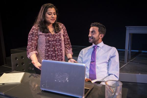 Priya Mohanty and Adam Poss