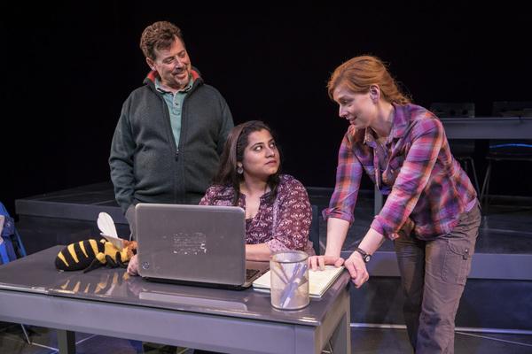 Stephen Spencer, Priya Mohanty and Darci Nalepa Photo