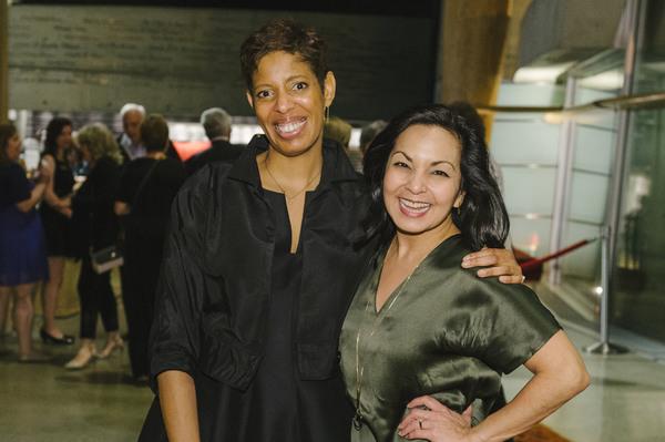 Lydia R. Diamond and  Seema Sueko