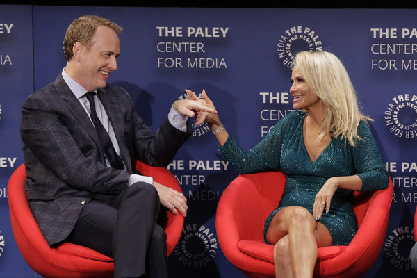 Robert Greenblatt, Kristin Chenoweth Photo