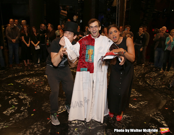 Photo Coverage: Inside the Gypsy Robe Ceremony for GROUNDHOG DAY