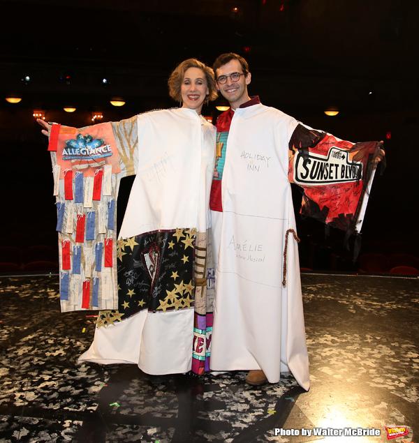 Joanna Glushak and Joseph Medeiros