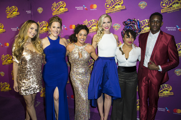 Photo Coverage: Golden Ticket Holders Win Entry to the CHARLIE AND THE CHOCOLATE FACTORY Opening Night Party!