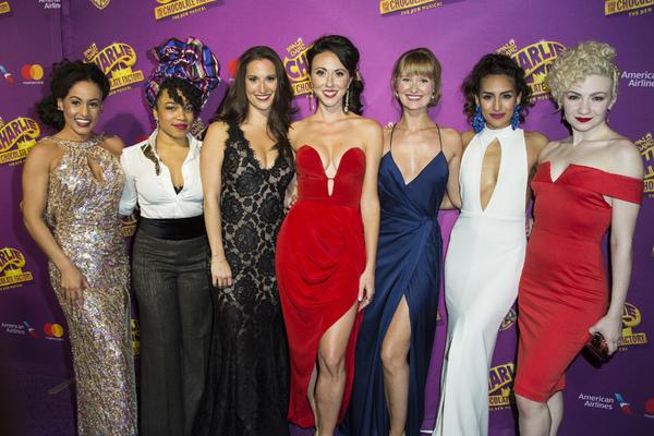 Talya Groves, Monette McKay, Robin Masella, Kristen Piro, Amy Quanbeck, Yesenia Ayala and Paloma Garcia-Lee
