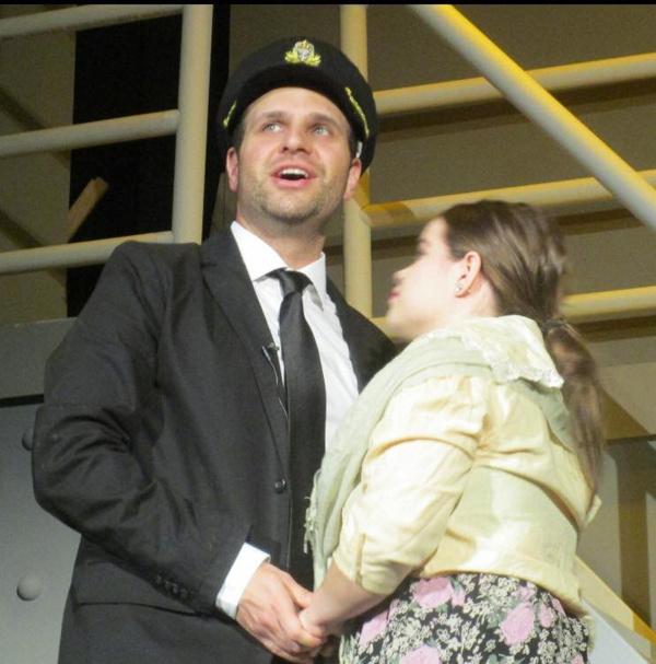 Rhett Commodaro and Diana Fegley