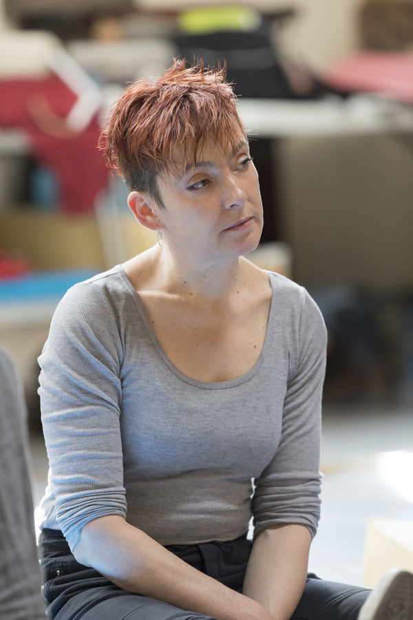 Photo Flash: In Rehearsals for Young Vic's LIFE OF GALILEO