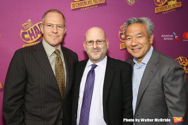 Toby Emmerich, Mark Kaufman, Kevin Tsujihara