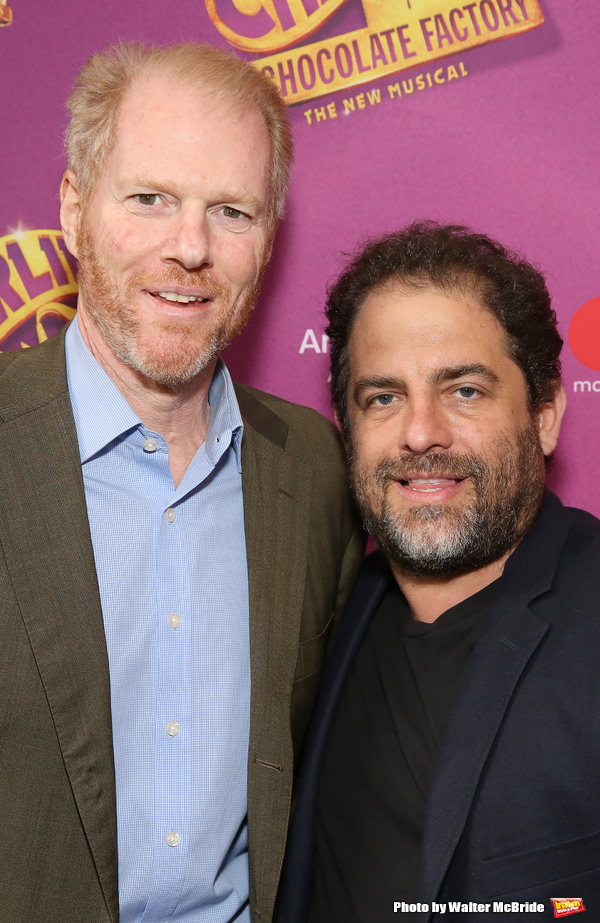 Noah Emmerich and Brett Ratner