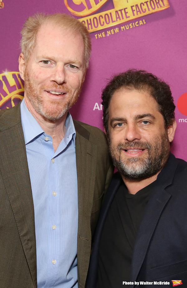 Noah Emmerich and Brett Ratner