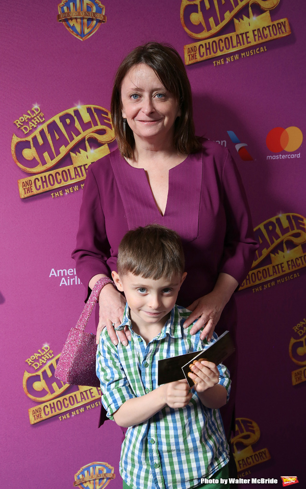 Rachel Dratch and son Eli Benjamin Wahl  Photo