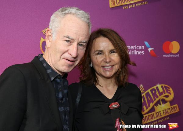 John McEnroe and Patty Smyth Photo