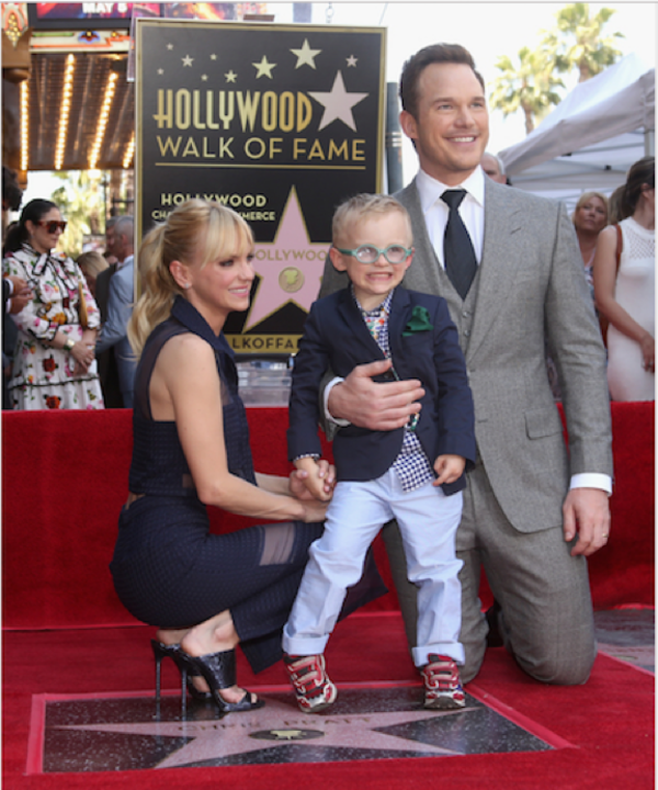 Anna Faris, Chris Pratt Photo