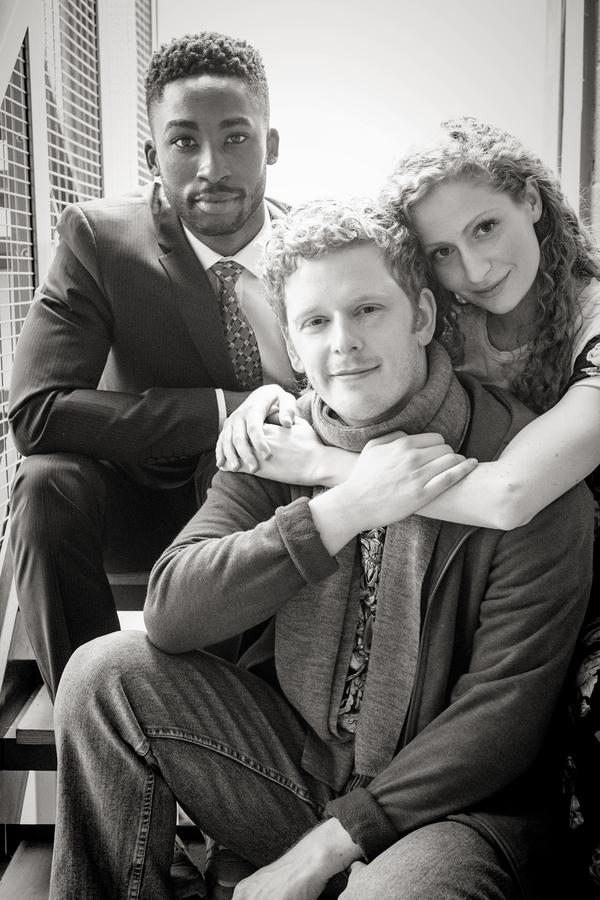 Jordan Shaw, Chris Jenkins, and Gillian Saker Photo