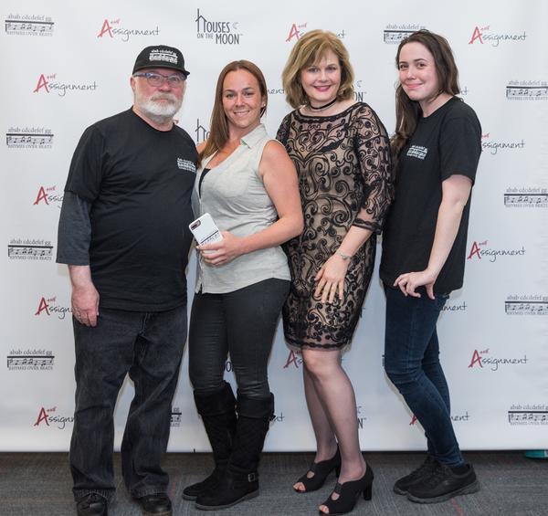 Patrick Blake, Donna Hart, Cate Cammarata, Jessica DiPaola Photo
