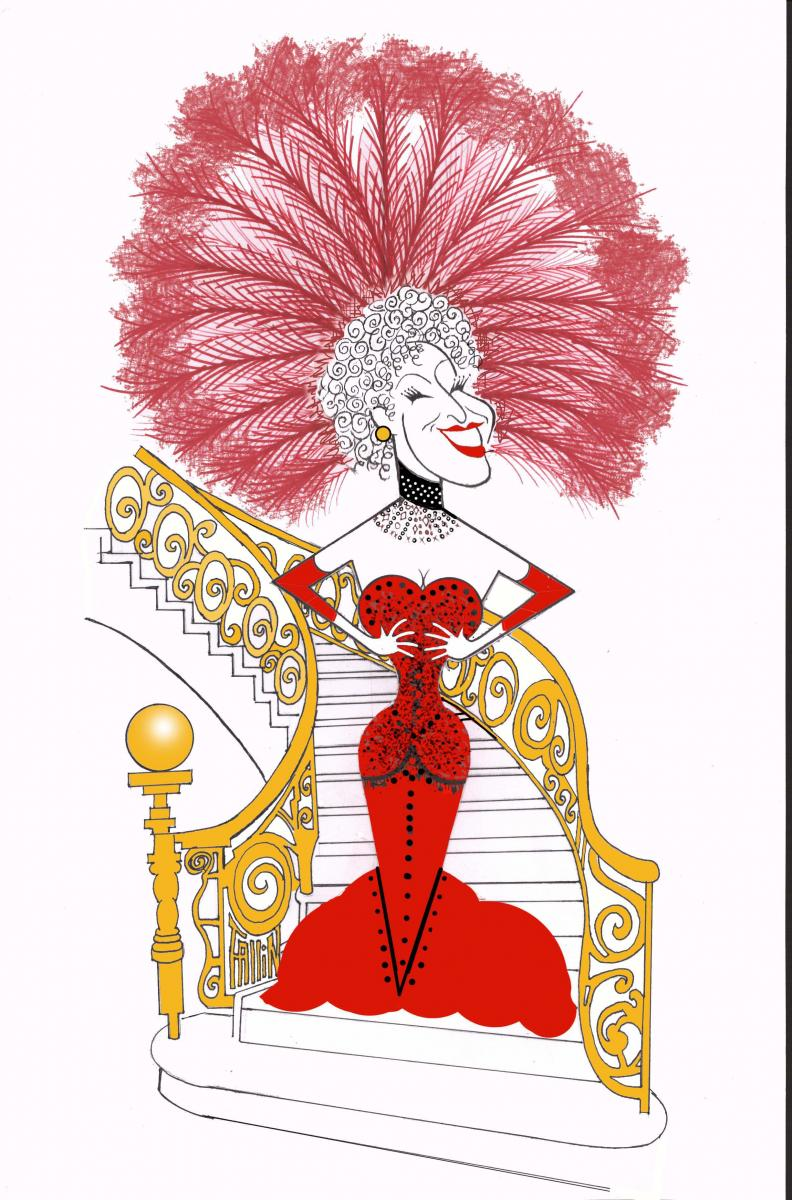BWW Exclusive: Ken Fallin Draws the Stage - Bette Midler is Back in HELLO, DOLLY!