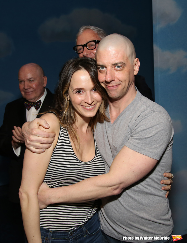 Emily Padgett and Christian Borle