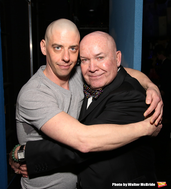 Christian Borle and Jack O'Brien Photo