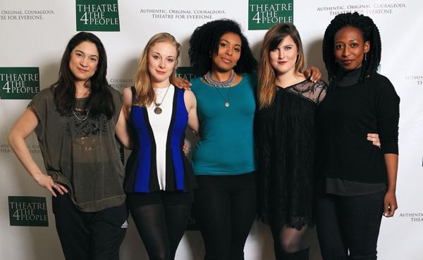 Valeria Avina, Jenny Leona, Mieko Gavia, Erika Phoebus & Natasha Hakata Photo