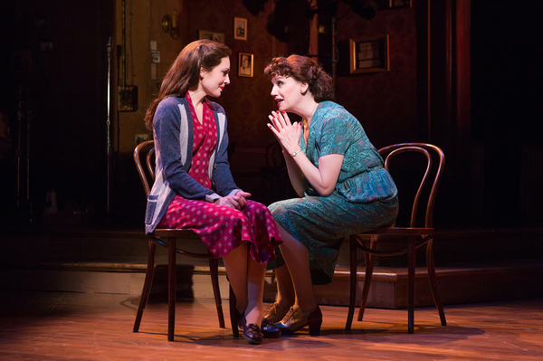 Laura Osnes and Beth Leavel. Photo Credit: Jeremy Daniel