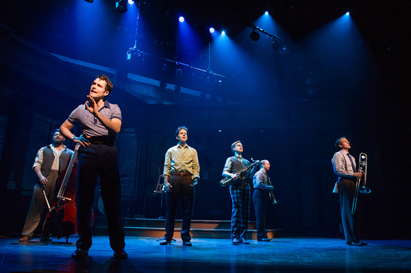 Brandon J. Ellis, Corey Cott, Joe Carroll, James Nathan Hopkins, Alex Bender and Geoff Packard. Photo Credit: Jeremy Daniel